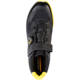 Mavic XA Pro Shoes Men Black/Black/Yellow Mavic